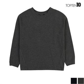 [탑텐] 골지 크롭 니트 티셔츠(MSU3TR2024)
