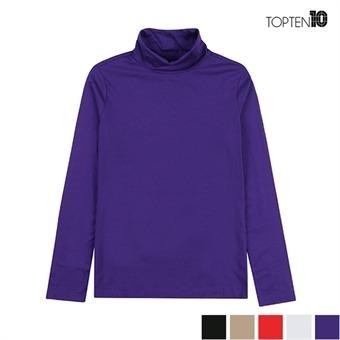 [탑텐] 소프트터치 터틀넥 티셔츠(MSW3TU2002)