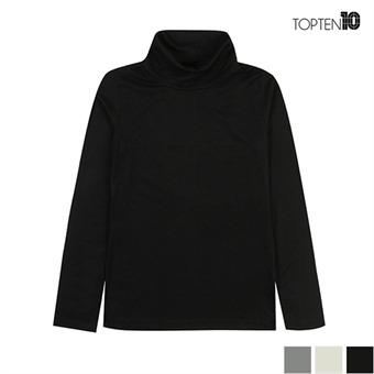 [탑텐] 레이온 스판 터틀넥 티셔츠(MSW3TU2003)