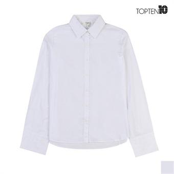 [탑텐] 와이드 소매 화이트 셔츠(MSW1WC2008)