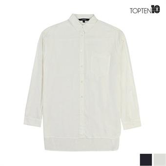 [탑텐] 터치감이 좋은 베이직 롱 셔츠(MSU3WC2006)