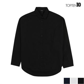 [탑텐] 루즈핏 언발란스 셔츠(MSU3WC2004)