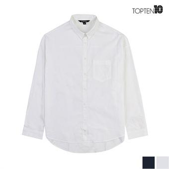 [탑텐] 오버핏 베이직 셔츠(MSV3WC2002)