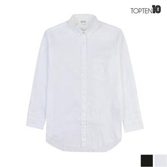 [탑텐] 시크릿 버튼 베이직 셔츠(MSV1WC2003)