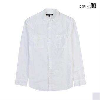 [탑텐] 버튼 포켓 핸리넥 셔츠(MSV3WC1006)