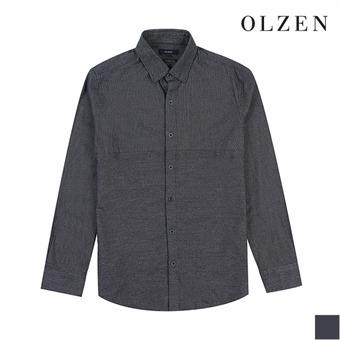 [올젠] 잔 스크라이프 셔츠(ZAX4WC1102)