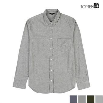 [탑텐] 피치기모 베이직 투포켓 셔츠 (MSW4WC2901)