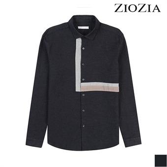 [지오지아][시즌오프] 플란넬 블로킹 배색 셔츠 (ADX4WC1801)