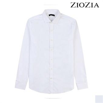 [지오지아][시즌오프] 블랙라벨 와이드 카라 드레스 셔츠 (ACX5WD1183)