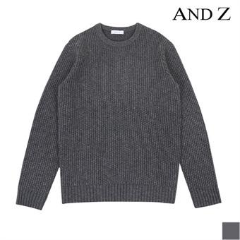 [시즌오프][지오지아] 램스울 마이크로 패턴 스웨터 (BLW4ER1003)