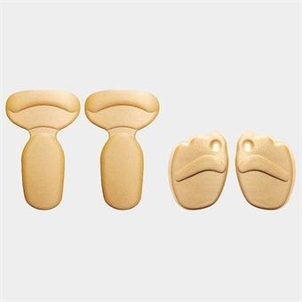 푹신한 앞꿈치 뒷꿈치 발패드세트 2가지 색상