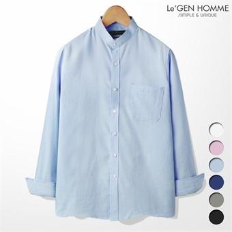 르젠 차이나 포켓 옥스포드 슬림핏 셔츠(LNSH1334ME)