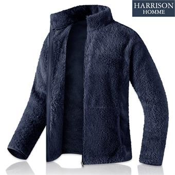 [해리슨] 남녀공용 보아털 후리스 집업 TBC1016
