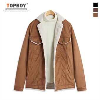 [탑보이] 포켓 양털 자켓 (FR067)