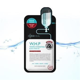 [비오유] 메디힐 WHP 미백수분 블랙 마스크 EX/환한피부/수분강화/미백기능성