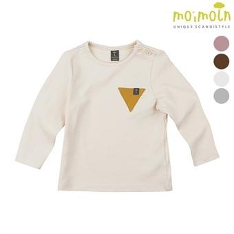 [모이몰른] 클립삼각 후라이스 티셔츠 MLW0FZTS02 [가을/겨울]