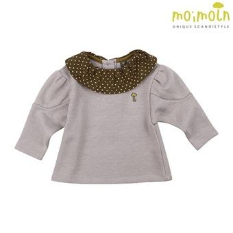 [모이몰른] 루아 티셔츠(기모) PB MLW0BATS56 [겨울]
