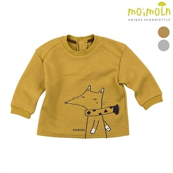 [모이몰른] 폭스포인트 티셔츠 (털안감) MLW1BQTS15 [겨울]