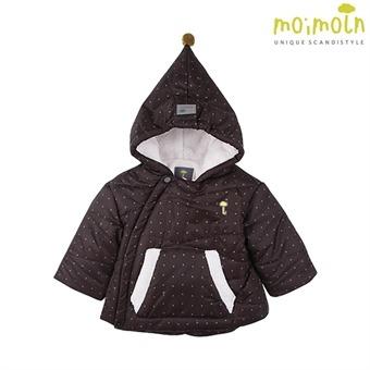 [모이몰른] 코리네패딩점퍼(털안감) BK MLW2BQPM06 [겨울]