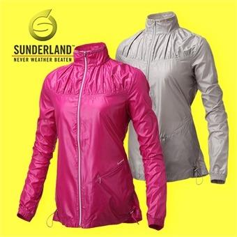 선덜랜드 여성 초경량 풀집업 도트셔링 방풍 바람막이 골프상의/선덜랜드골프웨어/여성골프웨어