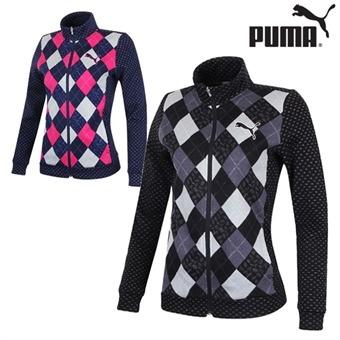 푸마 FW 니트 여성 집업 자켓 923492 골프웨어 골프의류 필드웨어 PUMA GOLF
