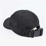 SHIRRING NYLON 6P CAP (BLACK)