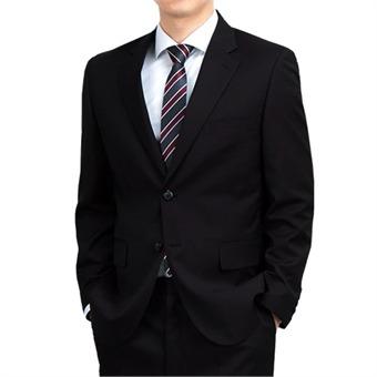 [레디핏] 빅사이즈 S/S 남성 블랙 투버튼 정장 수트 자켓_TL09J
