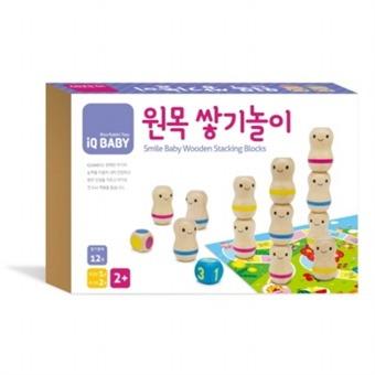 [블루래빗] 원목쌓기놀이 (iQ Baby(아이큐 베이비))