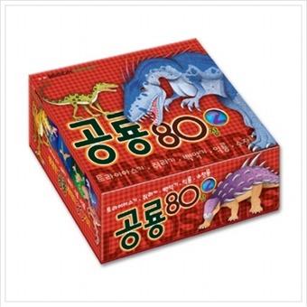 [담터미디어] Flashcard 공룡 80장. 2 : 트라이아스기 쥐라기 백악기 익룡 수장룡