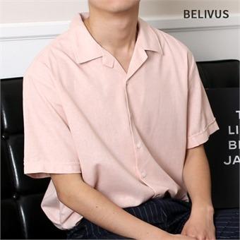 빌리버스 남자 린넨셔츠 BTT018 남자반팔셔츠 남성여름셔츠