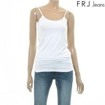 여성 베이직 11자 나시 티셔츠 WT (F62F-TM692B)