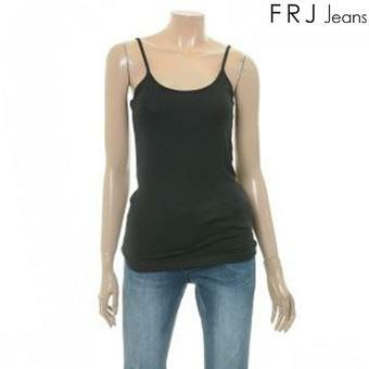 여성 베이직 11자 나시 티셔츠 BK (F62F-TM692B)