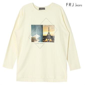 여성 전사 프린팅 티셔츠 OWH (F64F-TS529A)