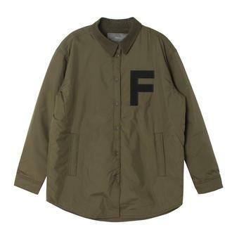 여성 아플리케 셔츠형 패딩 KH (F64F-MP528B)