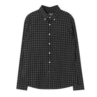 남성 포켓 체크 셔츠 GN (F64M-SH049A)