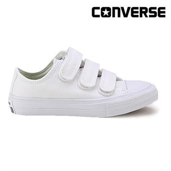 [컨버스키즈] CTAS Ⅱ3V OX WHITE/WHITE/NAVY 354201C (주니어)