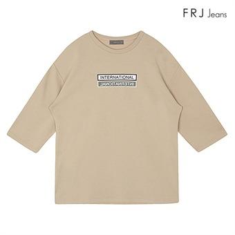 남성 프린트7부소매티셔츠 BE (F71M-TS161A)