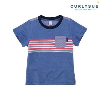 [컬리수] 쿨댄디 티셔츠 CMM1GQTS57BL [여름]