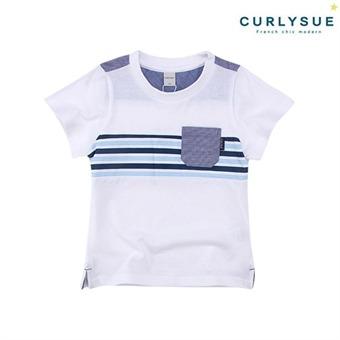 [컬리수] 쿨댄디 티셔츠 CMM1GQTS57WH [여름]