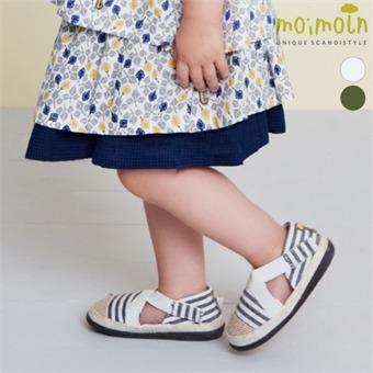 [모이몰른] 밴딩 에스빠듀샌들 [여름]
