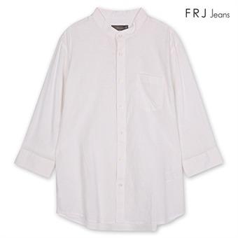 코튼린넨7부소매셔츠 WT (F76A-SH923A)