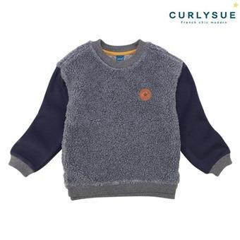 [컬리수] 따뜻한 덤블티셔츠(털안감) CLW1GQTS55GR [겨울]