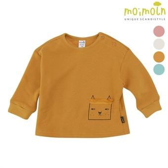 [모이몰른] 소프트&커트 티셔츠(털안감) MMW1NZTS91 [겨울]