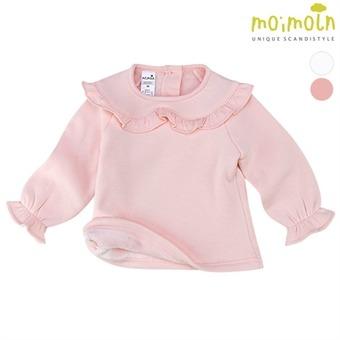 [모이몰른] 소프트&프릴 티셔츠(털안감) MMW1NATS92 [겨울]