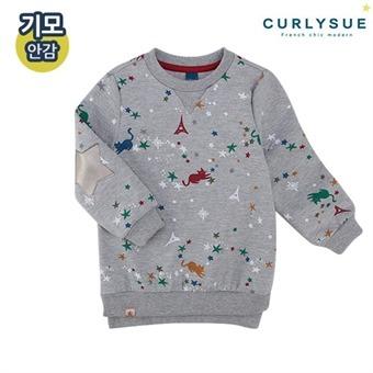 [컬리수] 루미나리에 롱티셔츠(기모) CMW1GATS011M [겨울]