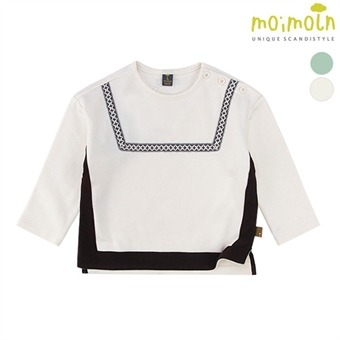 [모이몰른] 더블스퀘어 티셔츠(기모) MMW1BQTS18 [겨울]