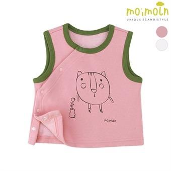 [모이몰른] 클립쪼아 밍크기모조끼 MMW1HZJJ12 [겨울]