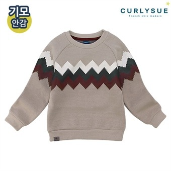 [컬리수] 시그널 맨투맨티셔츠(기모) CMW1GQTS51BE [겨울]