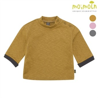 [모이몰른] Soft&하프넥 티셔츠 MMW0BZTS90 [겨울]