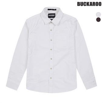 남성 면 겉피치 구제 셔츠(B174SH340P)